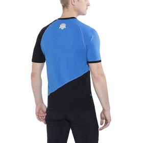 Directalpine Flash BCS 1.0 - Camiseta manga corta Hombre - azul/negro